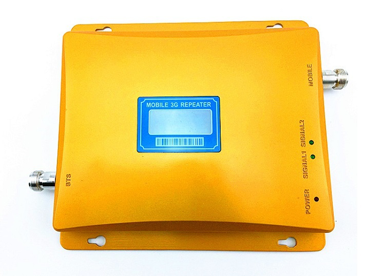 New arrival LCD Mobile Phone Signal 3G booster WCDMA 2100 mhz 3g Signal Amplifier Cell Phone 3G Repeater w-cdma