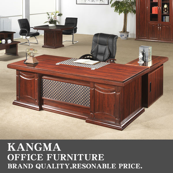 2014 new unique office large design l shape executive desk