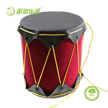 wholesale cheap High Quality Popular Percussion Instrument drum leather conjoined drum