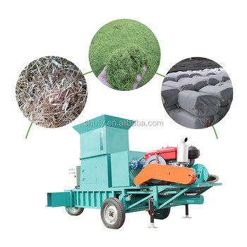 2019 new silage press baling hydraulic  corn packing machine for sale