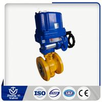 Manual Operated control change electric stainless steel ball valve