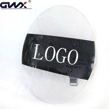High Impact Resistance Protective Round Anti-Riot Shield