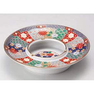 decorative tray kbu858-04-682 [8.67 x 2.05 inch] Japanese tabletop kitchen dish Old Imari 7.0 ashtray ashtray [22 x 5.2cm] interior inn restaurant restaurant business kbu858-04-682
