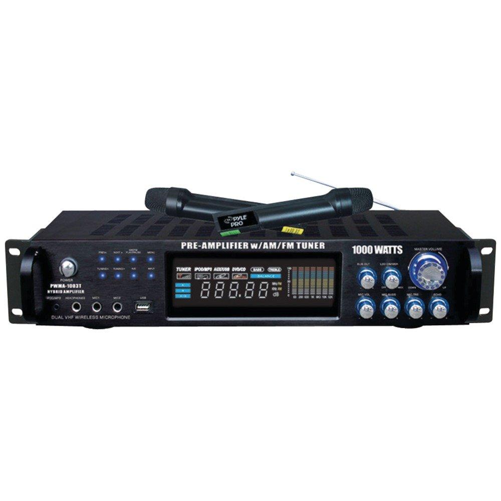 Cheap Karaoke Receiver Amplifier Find 70w Fm Get Quotations Pyle 4 Channel Home Audio Power 1000 Watt Stereo W Speaker Selector