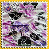 Reactive printed floral printed OE viscose lycra fabric for clothing