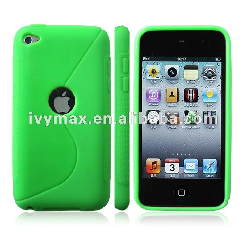 for ipod touch 4 newest TPU gel case