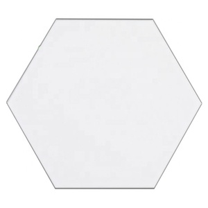 foshan 115*230*200mm hexagon tile white matt floor and wall tile