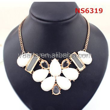 Hot new products for 2015 gold jewelry monogram necklace chain necklace