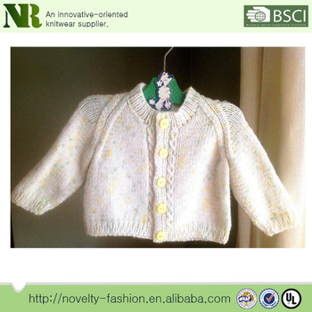 80f15a63cf7d Knit Baby Girl s Sweater