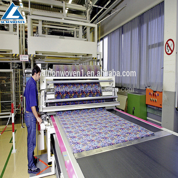 Geotextile machinery PET needle punching machine / High quality carpet making machine