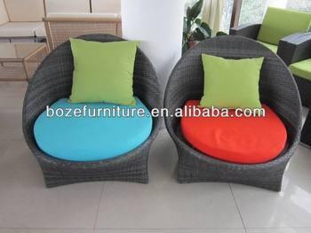 Muebles De Jardín/exterior Tejer Mimbre Sofá Tapizado De Muebles ...