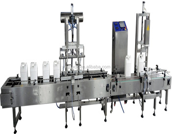 Simple Auto Lube Oil Engine Oil Weighing Filling Machine