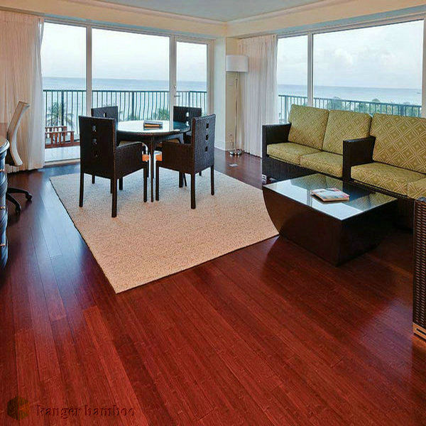 Red Cabreuva Color bamboo plywood floor panel bamboo designs elegant home
