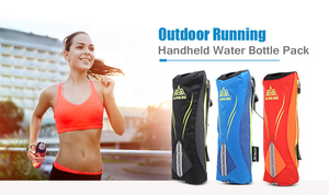 AONIJIE Outdoor 500ML Handheld Running Water Bottle Bag Hydration Bag Running Hydration Equipment for Cycling Marathon