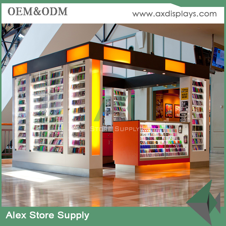 Mobile phone shop interior decoration 3d cell phone kiosk design