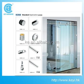 K008 Hardware Factory Glass Bathroom Shower Glass Bathroom Shower