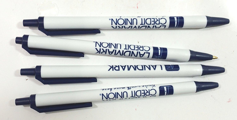 50 BiC Graphic Promotional Pens - Smoke - Black See Description