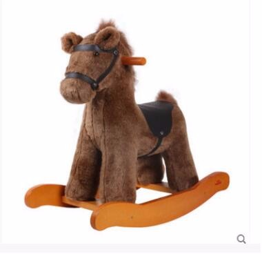 Plush baby rocking horse pony toys