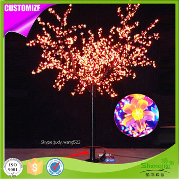 Most popular waterproof artificial outdoor led lighted cherry most popular waterproof artificial outdoor led lighted cherry blossoms trees aloadofball Image collections