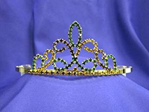 Mardi Gras Tiara Crown MG2