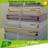 600 Thread count Solid 100% Egyptian cotton sheet sets