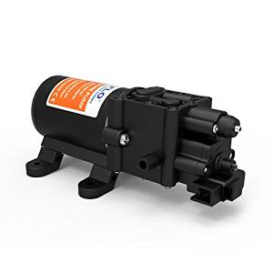 SEAFLO Diaphragm Pump 12V 100 PSI 1.3 GPM 5.0 LPM Water Pressure Pump for Caravan/RV/Boat/Marine