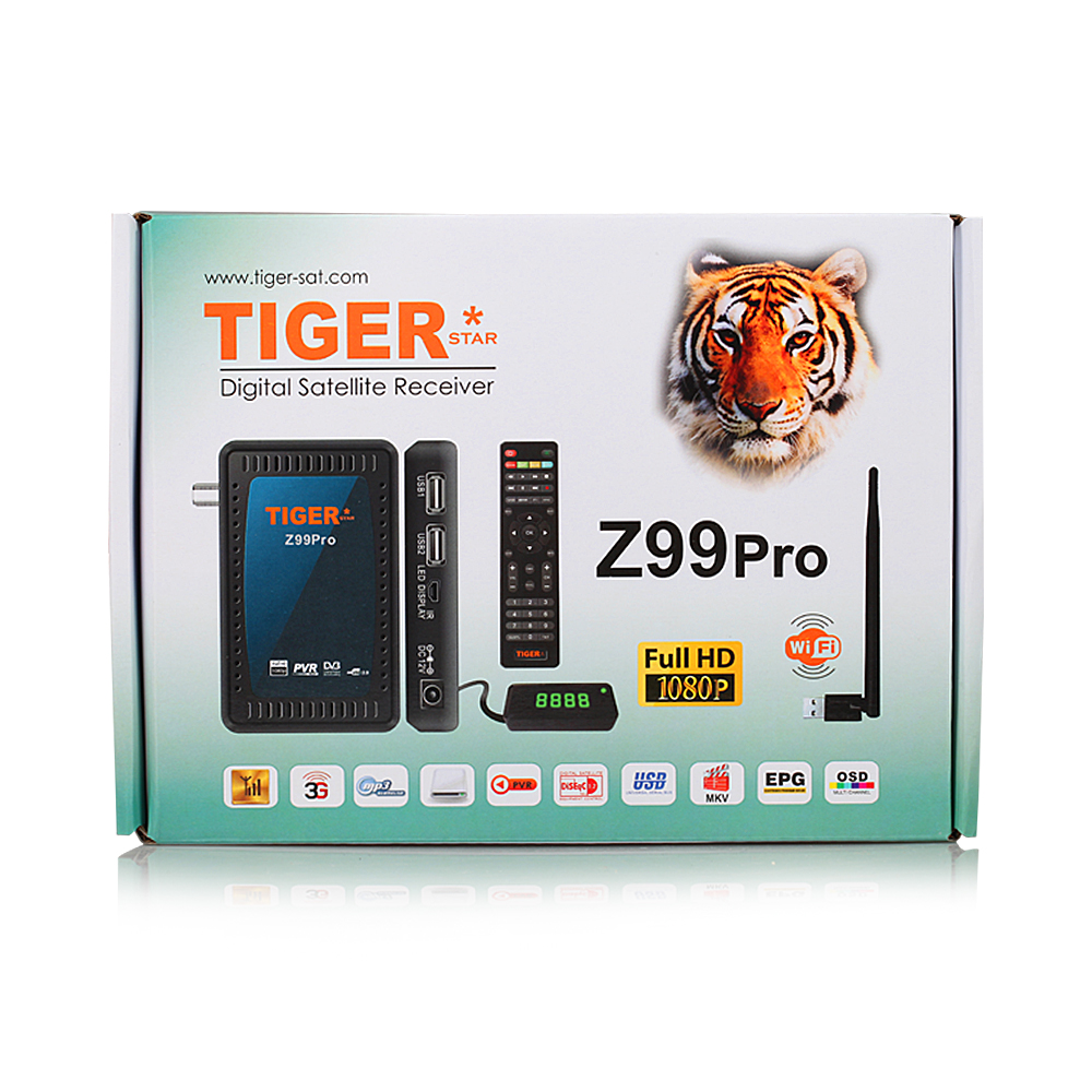 Grosir Tiger Satellite Receiver Remote Control Z99 Pro Udara Set Top Box