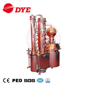 alcohol pot reflux copper still distilling equipment distiller