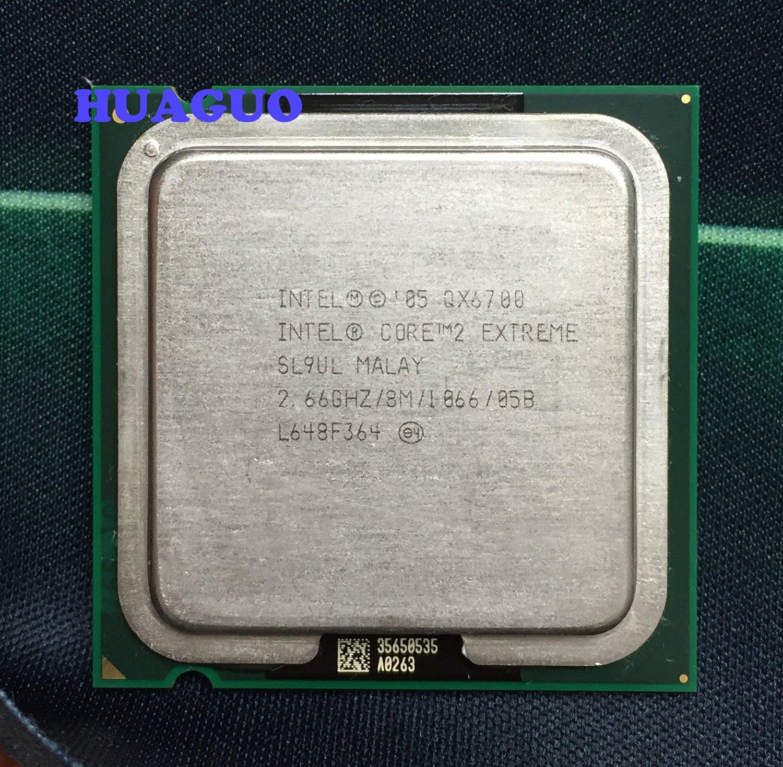 Intel Core 2 Extreme QX6700 2.66GHz Socket 8MB 1066 LGA775 Quad Core CPU SL9UL