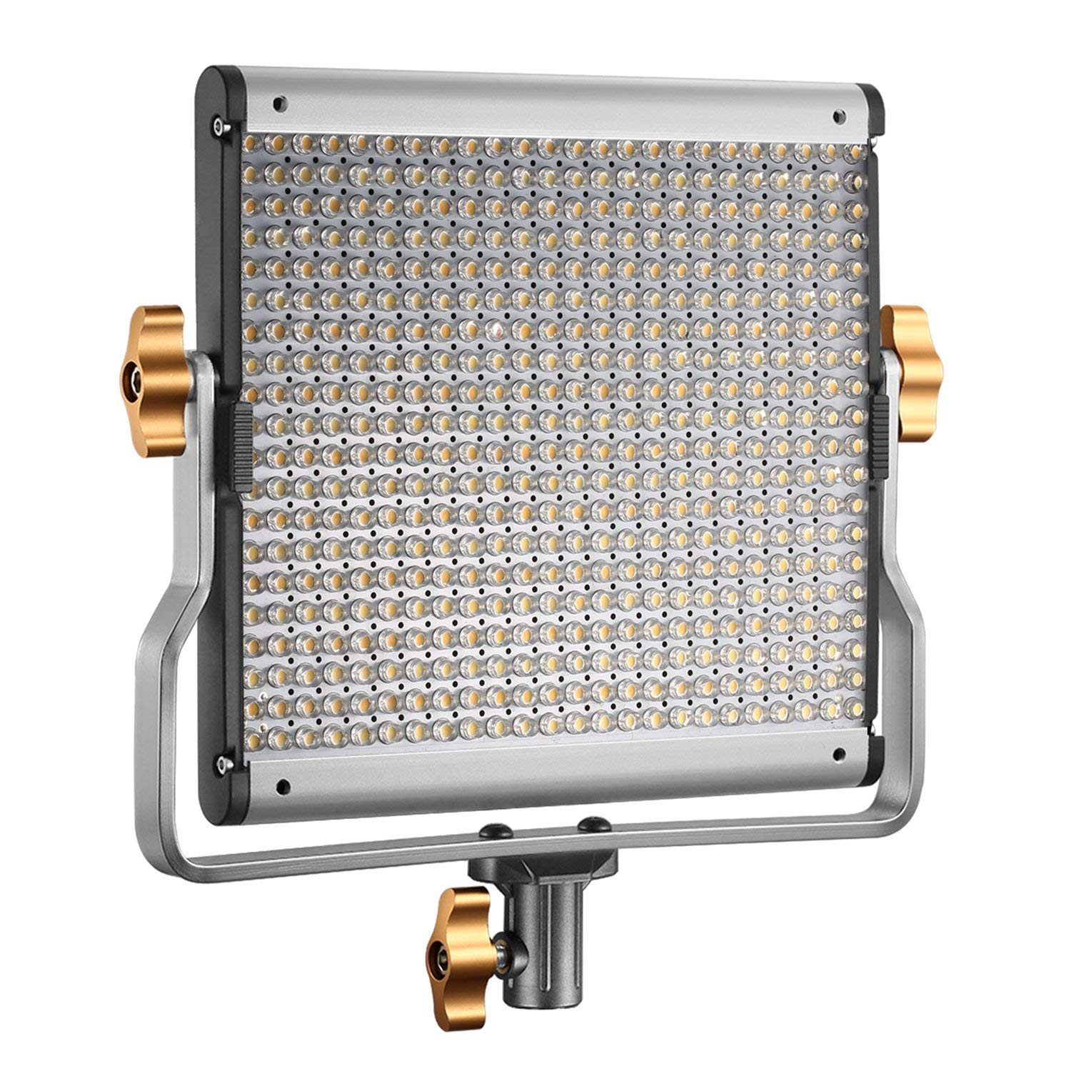 Neewer Dimmable Bi-color 480 LED Video Light with U Bracket Professional LED Panel Lighting (3200-5600K,CRI 96+) with 3-in-1 Camera Cleaning Kit for Photo Studio Portrait,YouTube Video Photography