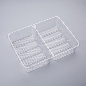 China manufacture clear plastic cookie packaging boxes, guangzhou disposable plastic tray