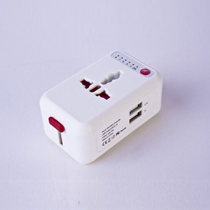 World Travel Plugs US/UK/EU/AU Electric Wall Socket 100-250V AC Universal Travel Adapter CE RoHS