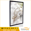 Magnetc open front panel light box led advertising board poster stand