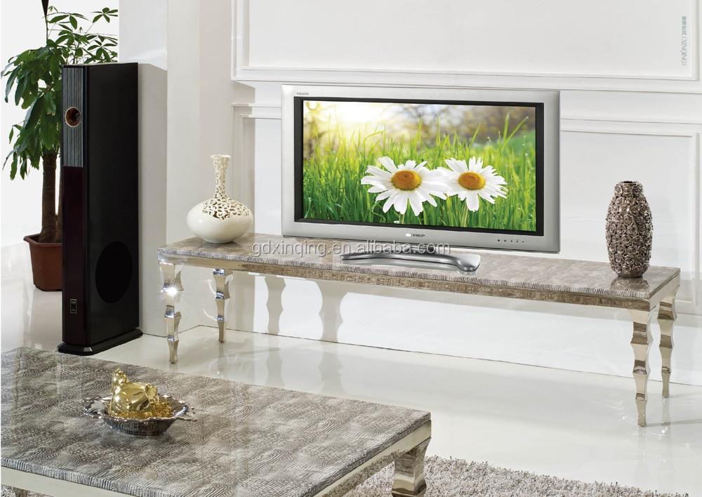 Moderne Kast Woonkamer : E361 woonkamer meubels moderne ontwerp marmeren roestvrijstalen tv