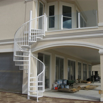 Duplex house spiral stairs low cost staircase design buy for Cost of building a duplex house