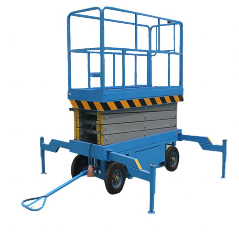 High Quality Movable Scissor Lifting Platform/hydraulic Manual Scissor  Platform Lift From Myway Factory - Buy Scissor Lift,Hydraulic Scissor