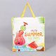 Non woven recycled grocery tote bags/pictures printing non woven shopping bag