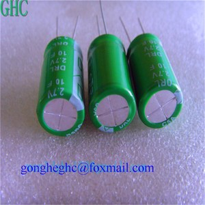 GHC DRL super capacitor 10f 2.7v low leakage current capacitor