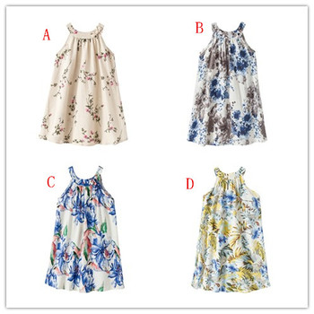 Kids Clothes Discount 8 Years Girl Floral Beach Dress Design New Design Kids Frock