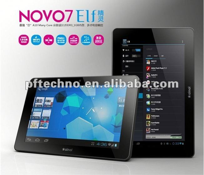 ALLWINNER smartq v7 7 tablet pc