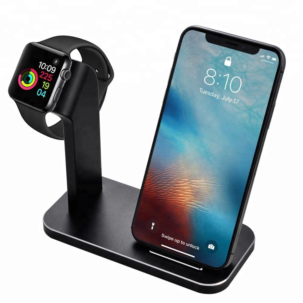wholesale dealer 5575d 1065a Watch Charging Station,3 In 1 Aluminum Wireless Charger Stand Compatible  With Iphone X/iphone 8/iphone - Buy Wireless Charger Stand,Wireless Charger  ...