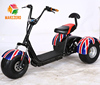 enclosed three wheel electric tricycle with fat tire and passanger seat for handicapped