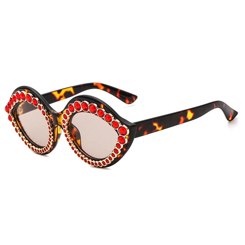 d88272d798 MINCL Luxury Fashion Sunglasses Womens Diamond Lips Shape Brand Designer  Glasses Clear Lens Glasses