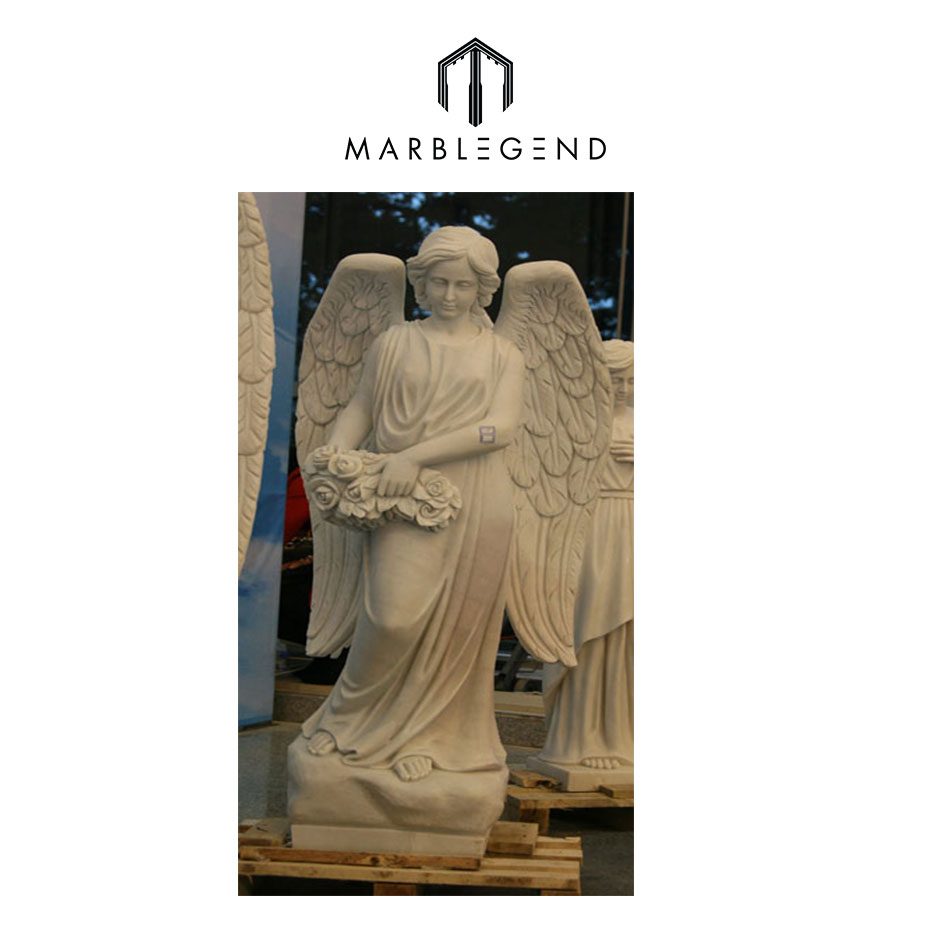 Hand-carved of winged victory of samothrace angel statue