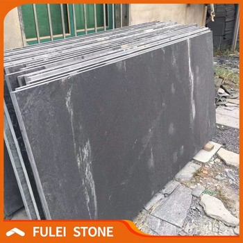 Cheap Honed Natural Black Slate Stone Slabs For Sale Buy