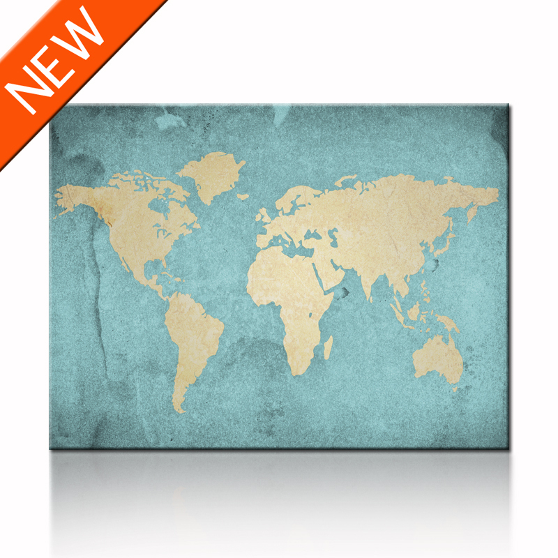 World Map Print Fabric.Canvas Map Prints Wall Art Hanging Wall Map Fabric World Map Vintage