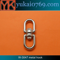 Yukai stainless steel d ring swivel hook for climbing/metal sensormatic hook
