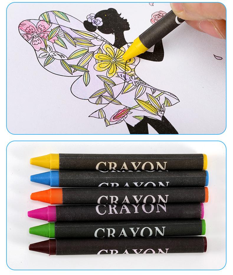Подарочный набор канцелярских принадлежностей для детей с мультяшным рисунком