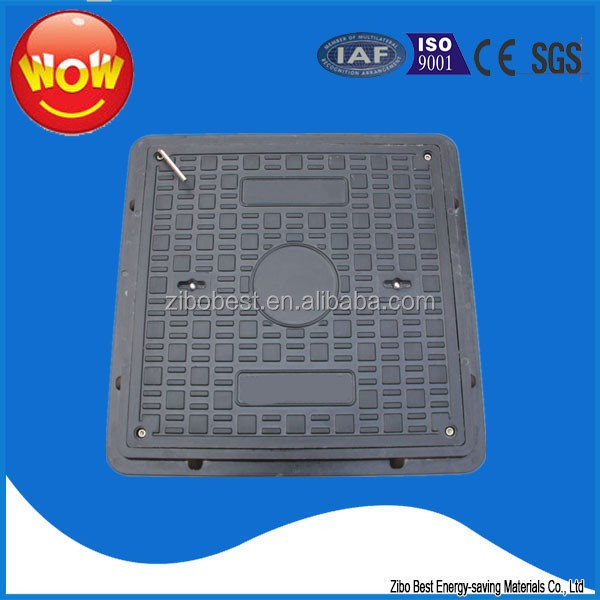 drainage manhole cover FRP Deck Grating Polymer Electrical Manhole Covers