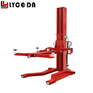 Hot selling portable single post lift one post car lift parking 1 post garage parking car lift